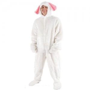 Mens White Rabbit Costume