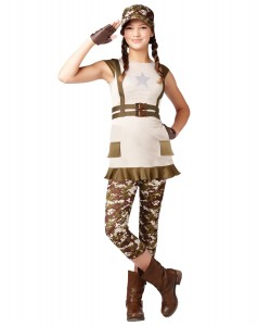 Military Costume for Girls