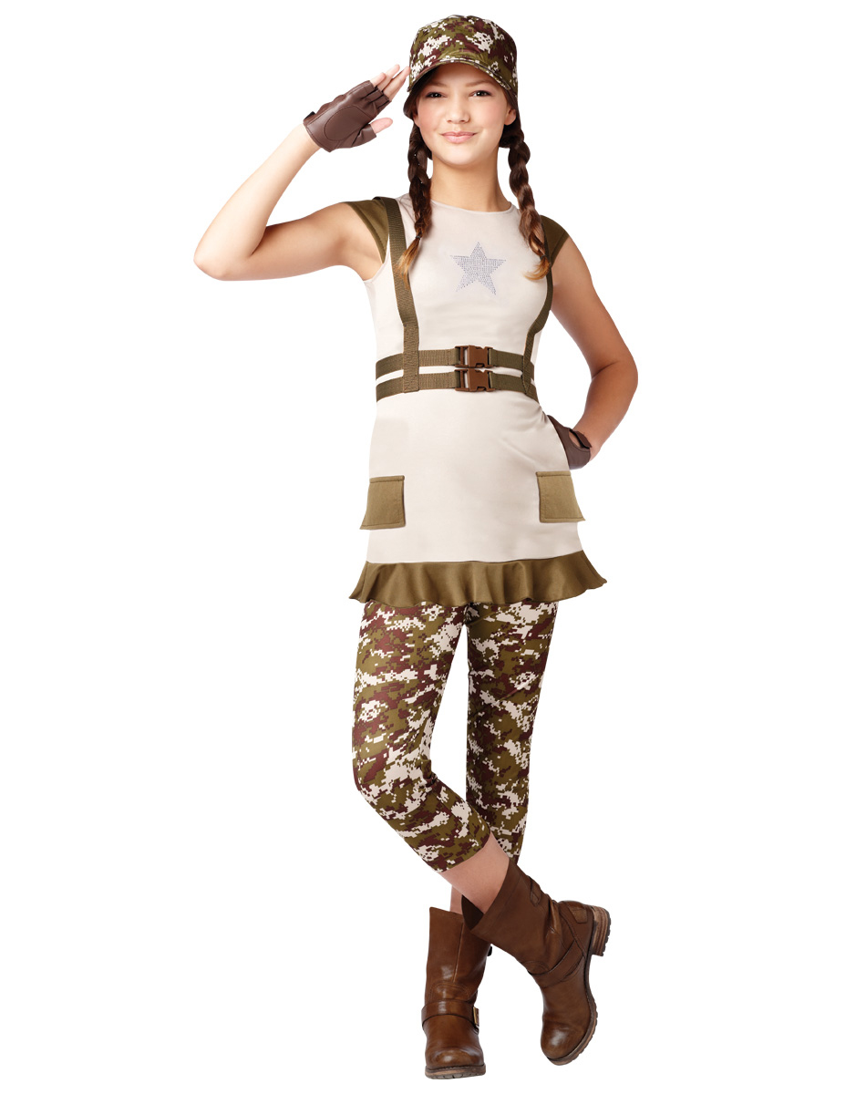 Military Costume for Girls  sc 1 st  Parties Costume & Military Costumes (for Men Women Kids) | Parties Costume