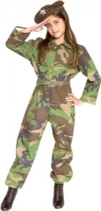 Military Costumes for Girls