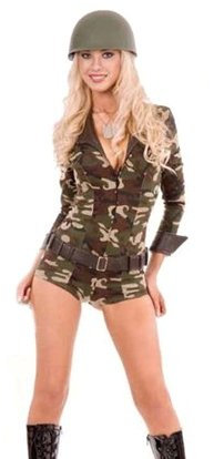 Military Costumes (for Men, Women, Kids) | Parties Costume