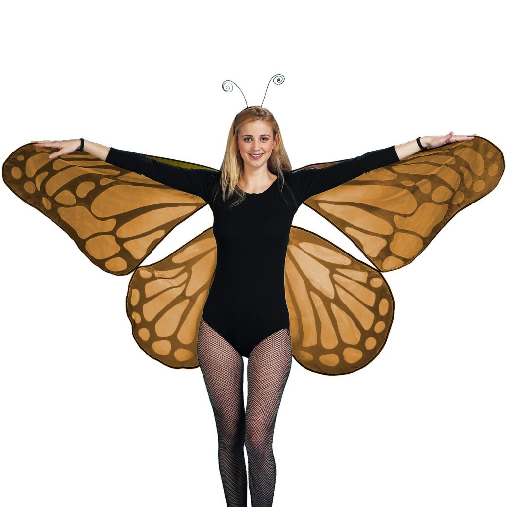 Сделать крылья для бабочки своими руками