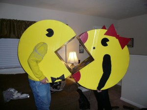 Mr and Mrs Pacman Costumes
