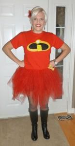 Mrs Incredible Costume Tutu