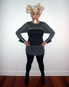 Mugatu Costume Girl