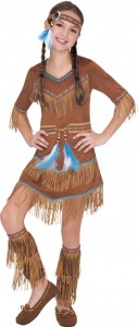 Native American Costume Girl