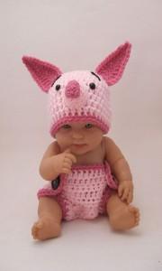 Newborn Piglet Costume