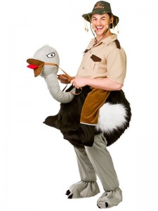 Ollie Ostrich Costume