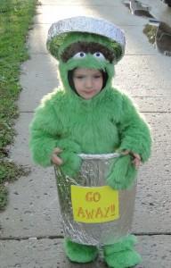 Oscar the Grouch Baby Costume