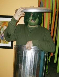 Oscar the Grouch Costume Men