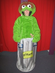 Oscar the Grouch Costume for Women