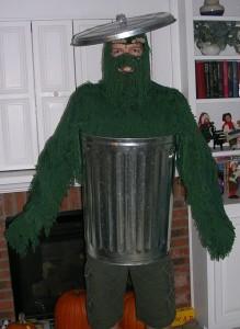 Oscar the Grouch Halloween Costume