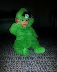 Oscar the Grouch Toddler Costume