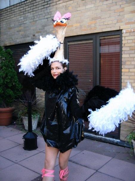 ostrich costumes  for men  women  kids