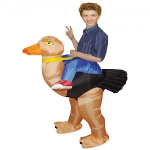 Ostrich Costume for Kids