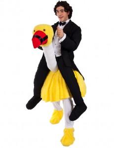 Ostrich Riding Costume
