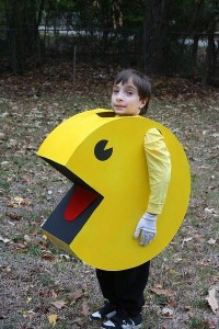 Pac Man Costume Kids