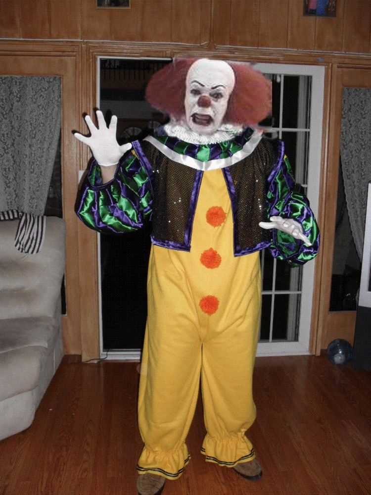 Pennywise Costumes For Men Women Kids Parties Costume Stunning Pennywise Costume Pattern