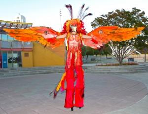 Phoenix Bird Costume