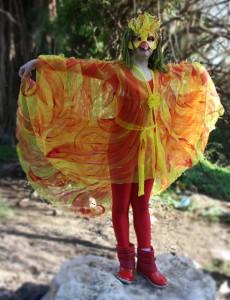 Phoenix Halloween Costume