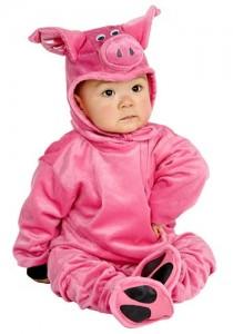 Piglet Infant Costume