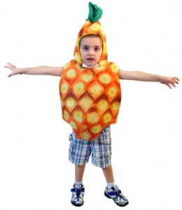 Pineapple Costume for Boys