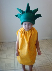 Pineapple Costume for Kids