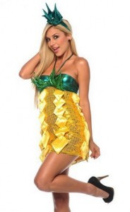 Pineapple Womens Costume