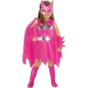 Pink Bat Girl Costume
