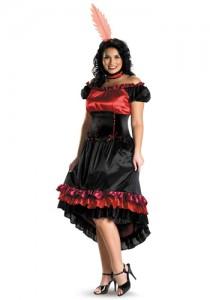Plus Size Burlesque Costume