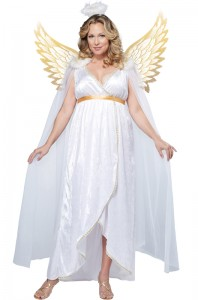 Plus Size Fallen Angel Costume