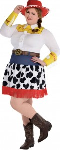 Plus Size Jessie Costume