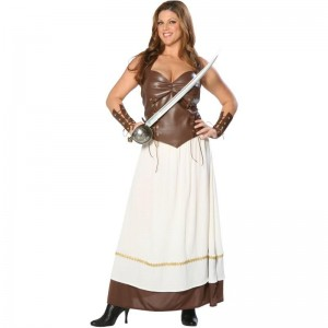 Plus Size Xena Costume