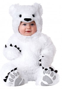 Polar Bear Baby Costume