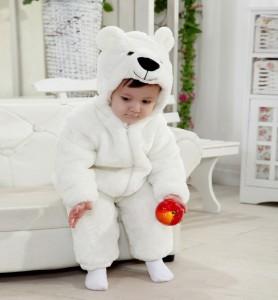 Polar Bear Costume Kids