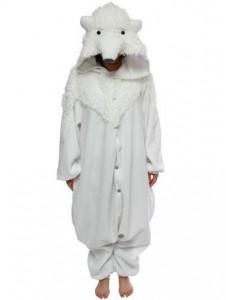 Polar Bear Costume for Girls