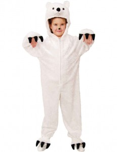 Polar Bear Costume for Kids