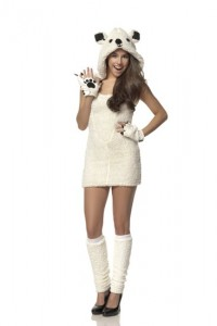 Polar Bear Costumes for Women