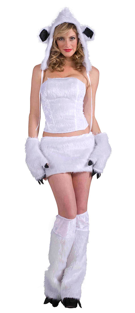 polar bear halloween costume