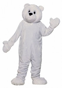 Polar Bear Mascot Costume