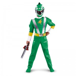 Power Ranger Green Costume
