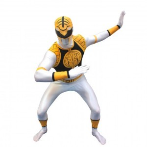 Power Ranger White Ranger Costume