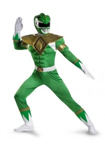 Power Rangers Green Ranger Costume