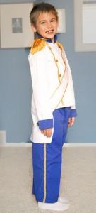 Prince Eric Costume Child