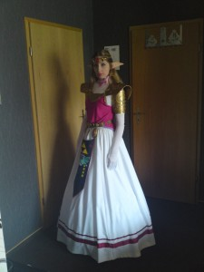 Princess Zelda Cosplay Costume
