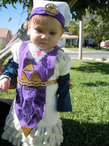 Princess Zelda Costume Child
