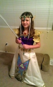 Princess Zelda Costumes for Kids
