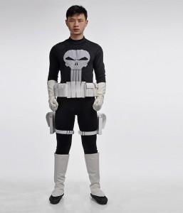 Punisher Costume Kids