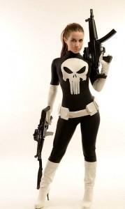 Punisher Costume Women