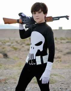 Punisher Costume for Kids